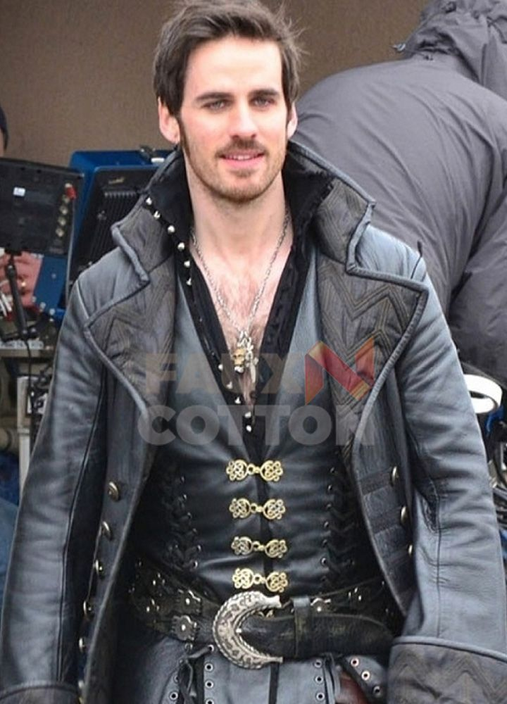 Buy Colin O Donoghue Once Upon A Time Coat Captain Killian Hook Coat Colin O Donoghue Captain Hook Once Upon A Time