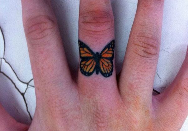 Butterflie Butterfly Tattoo | 25 Phenomenal Tiny Tattoos - SloDive