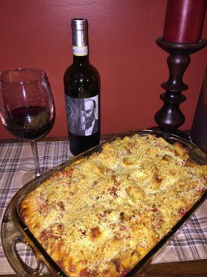 Baked sausage rigatoni with Vignavecchia Chianti Classico Riserva for OTBN