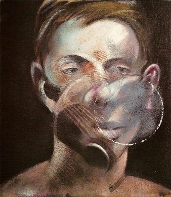 Francis Bacon: Portrait of Peter Beard, 1976. Etching and aquatint in colours…