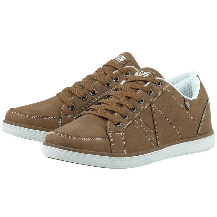 Για τις sport casual εμφανίσεις σας, ανδρικάαθλητικά παπούτσια low cutτου ελληνικού brandBitter & Sweet, αποτελούν ιδανική και στυλάτη επιλογή για την δραστήρια καθημερινότητά σας.       Συνθετικό δέρμα          Εσωτερική επένδυση από ύφασμα               Λαστιχένια σόλα          Κορδόνια για εύκολη εφαρμογή     Μαλακός πάτος