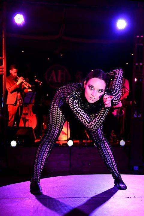 Bridgett Cains, After Hours Cabaret Club, Melbourne Fringe 2017  Photo: Brig Bee