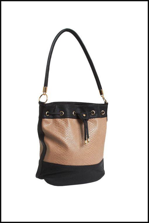 51fbb46351 sac seau pas cher,Lancaster Sac cabas en cuir Adeline Femme Beige et noir  Sacs,Lancaster ...