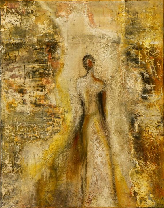 Nr 141 Kunst Malerei Acryl Leinwand Original Art von RitaReise