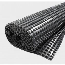 WATERPROOF FLOOR MEMBRANE Waterproof Floor Membrane 20mm Cavity Drain Channels for waterproofing basement and cellar floors. SkilledBuild UK