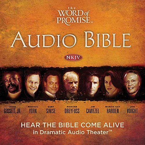 """Another must-listen from my #AudibleApp: """"The Word of Promise Complete Audio Bible: NKJV"""" by  Thomas Nelson, Inc., narrated by Jason Alexander."""