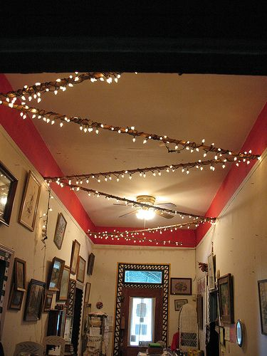 How to Light Your Room with Christmas Lights and Paper Lanterns: (But don't forget fire safety in the residence halls!)
