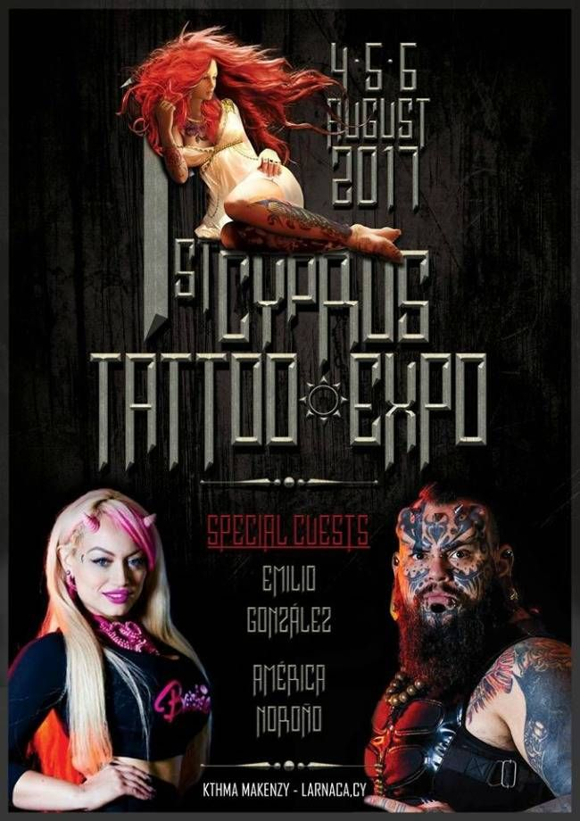 1st Cyprus Tattoo Expo | Tattoo Filter