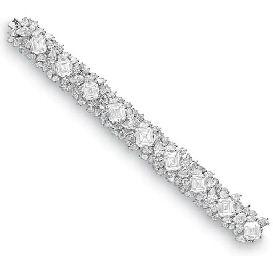 A DIAMOND BRACELET, BY HARRY WINSTON