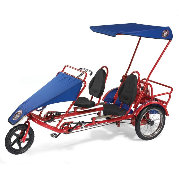 The Family Cycle - Hammacher Schlemmer OK this one works for me too! Might be a bit harder for grandma and grandpa to enter and exit but, still looks fun!  $2700 Hammacher Schlemmer
