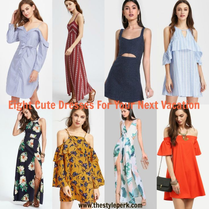 Eight Cute Dresses For Your Next Vacation, affordable summer dress,  vacation dress, summer - 422 Best The Style Perk Outfits Images On Pinterest Floral