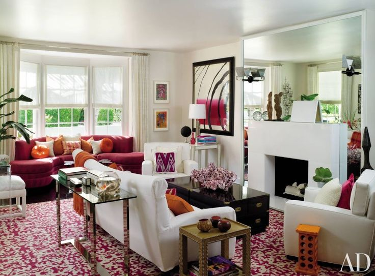 285 best Red Rugs Decorating images on Pinterest | Architecture ...