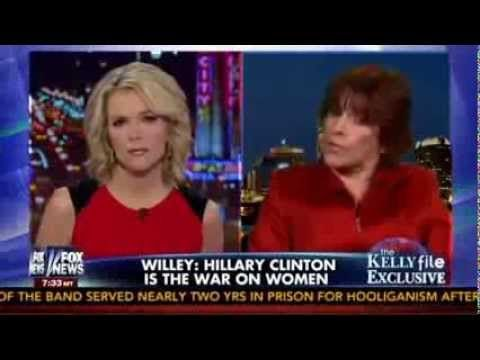 Kathleen Willey Hillary Clinton Is The War On Woman Kathleen Willey The Kelly File - YouTube