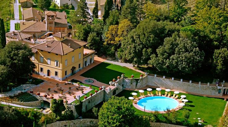Villa Campomaggio in Radda in Chianti | Splendia - http://pinterest.com/splendia/