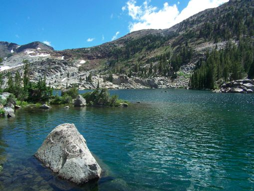 Echo Lake, Mount Evans, Colarado (near Denver)