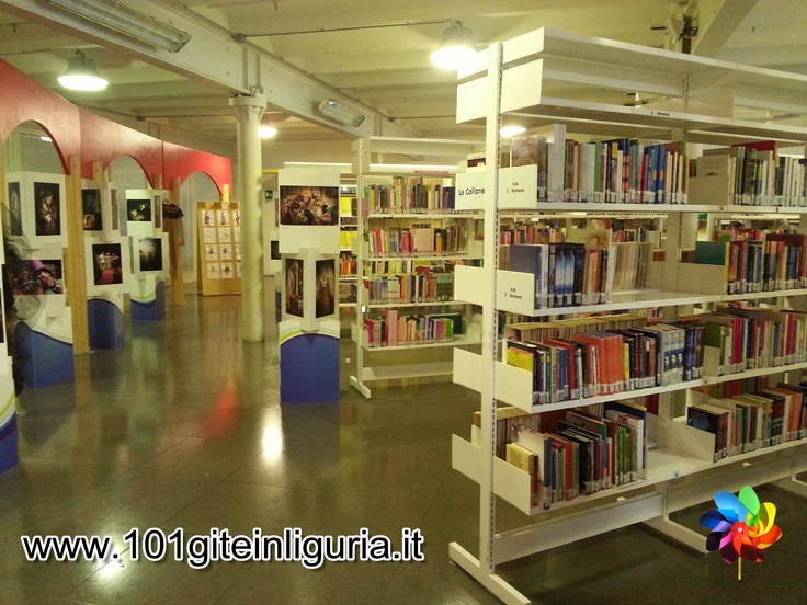 http://www.101giteinliguria.it/index.php/quando-piove/445-biblioteca-per-bambini-de-amicis