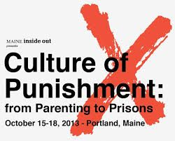 $1,000 to ROil, Inc., Cape Elizabeth, for 'The Culture of Punishment, from Parenting to Prisons.' A four day symposium featuring workshops, lectures and panel discussions, this project explored the culture of punishment. It featured an original performance by youth from Long Creek Development Center and a keynote from Sister Helen Prejean, author of Dead Man Walking.