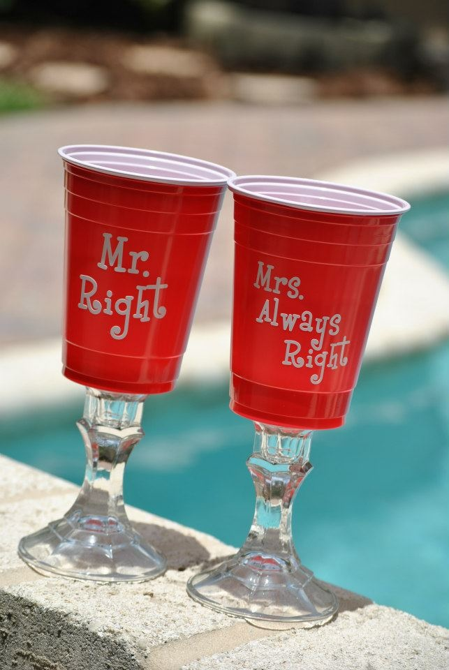 Personalized Red Solo Cup Redneck Wine Glass Diy Repurpose