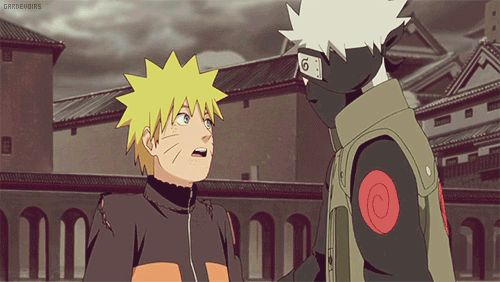 ...okay..  this is adorable! DAMMIT! If only Kakashi like adopted Naruto after Minato and Kushina died! They would be hysterical living together! #freakingauthorsfault #kakashiwouldbeagooddad