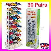 Органайзер для обуви на 30 пар Amazing shoe rack (Амазинг шо рак)