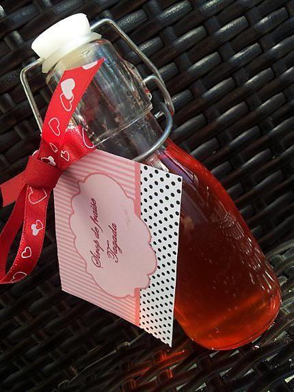 recette Sirop de fraise Tagada ® *Cadeau gourmand*