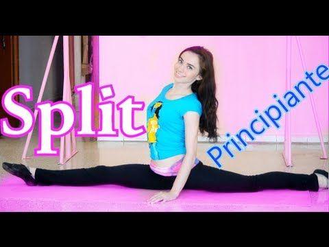 Como hacer el split fácil y bien/ ejercicios flexibilidad / Perfecta de pies a cabeza - YouTube