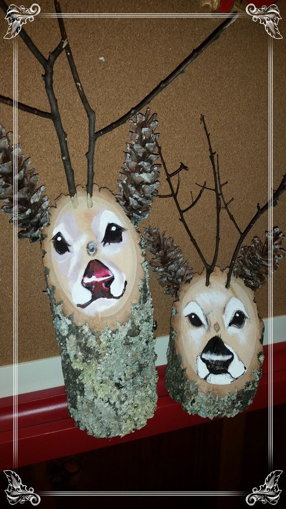 Hey, I found this really awesome Etsy listing at https://www.etsy.com/listing/256965236/gorgeous-hand-painted-wooden-reindeer