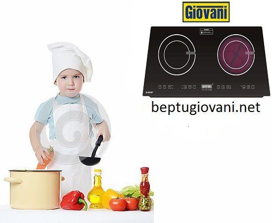 Vệ sinh bếp điện từ Giovani G 281ET sao cho đúng cách?
