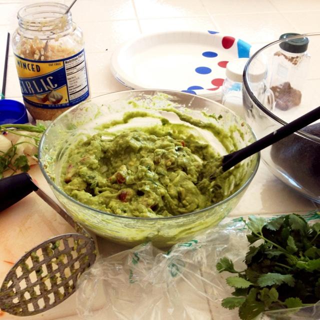 Alton Brown's guacamole