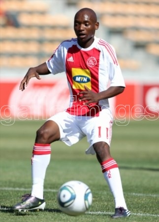 Khama Billiat from Ajax Cape Town Town during the Absa Premiership match between Ajax Cape Town and Black Aces at Athlone Stadium on March 06, 2011 in Cape Town, South Africa.Photo by Luke Walker / Gallo Images