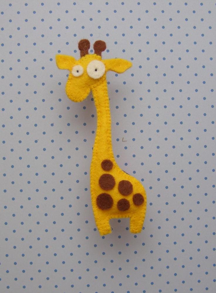 Giraf i filt - fra bloggen Håndarbejdsom