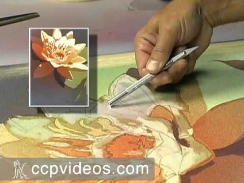 Using a Mouth Atomizer and Masking to Create Ranges of Value with Watercolors