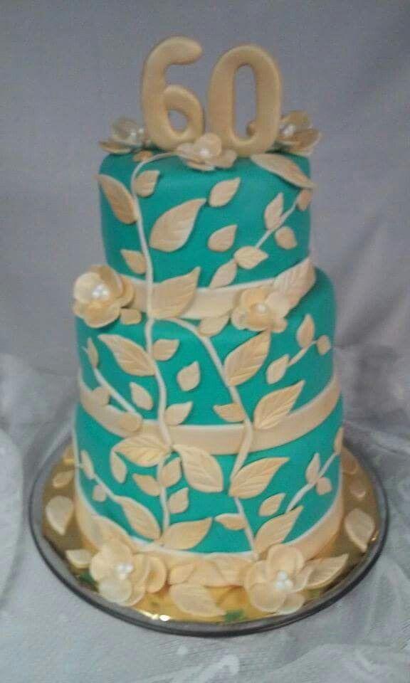 Happy 60 Th Birthday Cakes By Grandma Debbie
