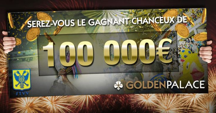 Célèbration du partenariat entre le club de football du STVV et le groupe GoldenPalace Belgique http://www.bookmakersetcasinos.be/challenge-100000-euros-goldenpalace-stvv/