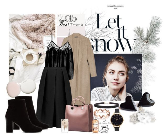 Last words by nicolepuppy on Polyvore featuring The Row, TIBI, Fleur du Mal, Yves Saint Laurent, Olivia Burton, Humble Chic and Casetify
