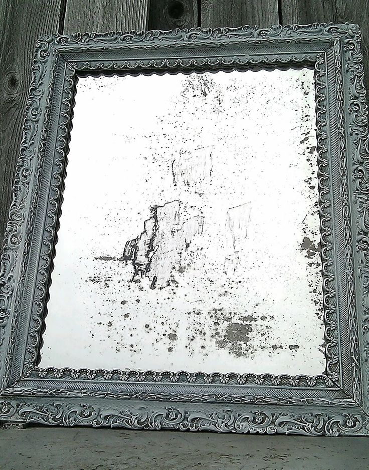 DIY - Distressing a Mirror using Bleach - Full Tutorial