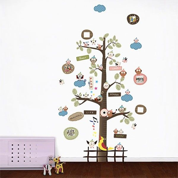 Let the chirpiness bounce around with the help of this wallpaper decal from the Maker's Market.