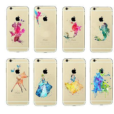 Kid's Cartoon Novelty Crystal Matte Mickey Minnie Cover Case For Latest iPhone | eBay