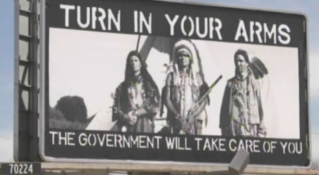 A controversial billboard promoting gun rights has some up in arms. In your opinion, does the ad go too far?