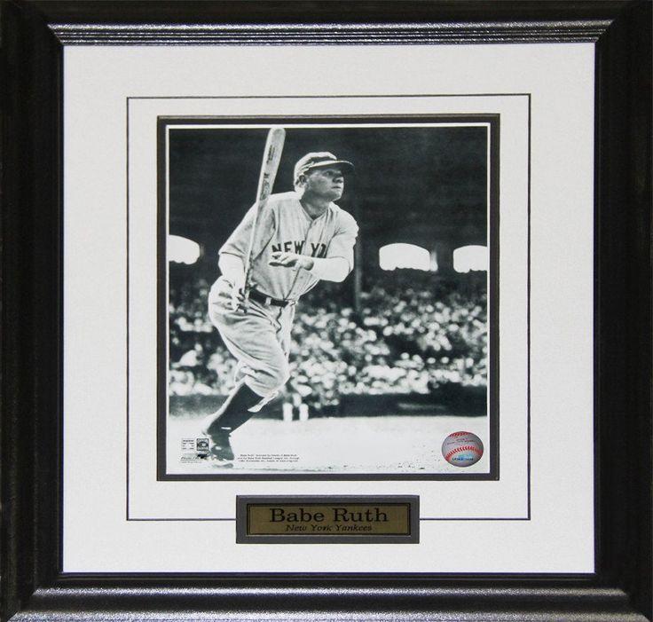 Babe Ruth New York Yankees 8x10 Photo Framed $84.99 plus tax