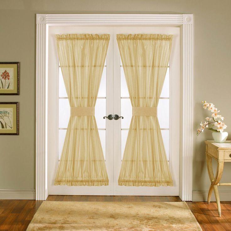 Window Coverings For French Doors   Http://www.arq Links. Seitenlicht  VorhängeTürverkleidungsvorhängeStangentaschen ...