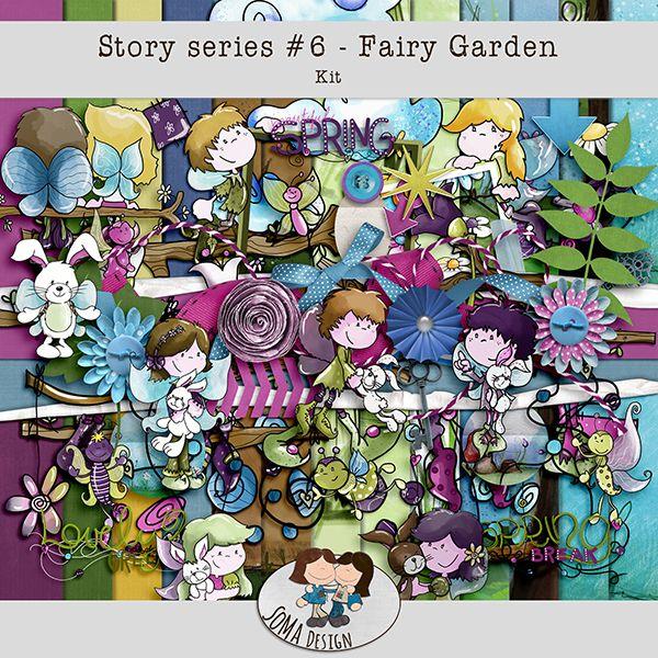 Oscraps.com :: Shop by Category :: All New :: SoMa Design: Fairy Garden - Kit