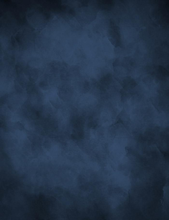 Midnight Blue With Little Black Abstract Photography Backdrop J