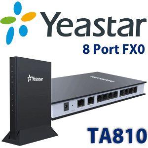 Yeastar TA810 FXO Gateway - http://www.vdsae.com/product/yeastar-ta810-fxo-gateway/