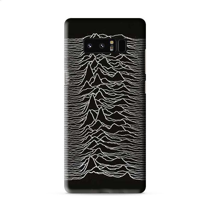Joy Division unknown pleasures Samsung Galaxy Note 8 3D Case Caseperson