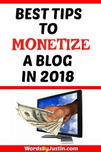 There are several popular methods of monetizing your blog that most experienced bloggers seem to agree on. They're time-tested and proven to work well for just about any blogging niche you can think of.  #blogger #blogtips #blogadvice #bloggingtips #bloggers