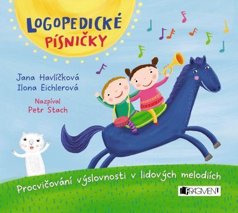 FRAGMENT Logopedické písničky audio CD pro děti