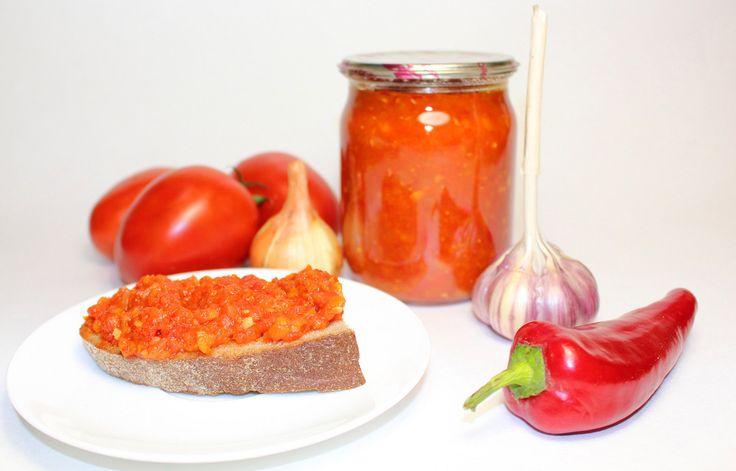 Аджика. Самый простой и вкусный рецепт (без уксуса)