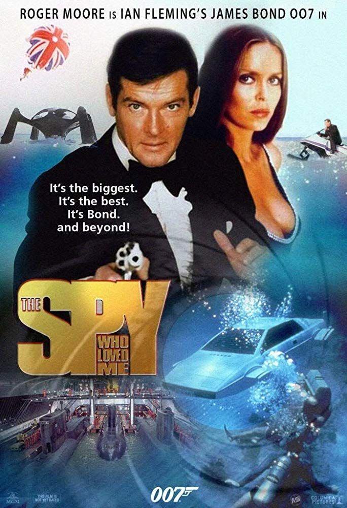 The Spy Who Loved Me 1977 Posteres De Filmes Cartazes De