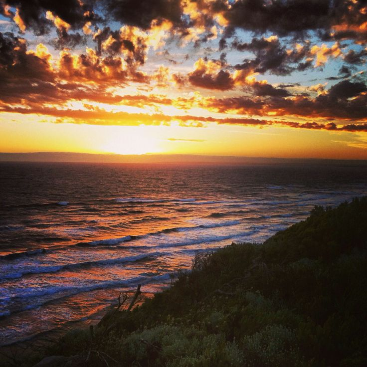 The night Brent proposed in Barwon Heads- the Bluff lookout